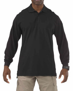 5.11 Tactical Professional Long Sleeve Polo Shirt - Tall Sizes (2XT - 5XT), , hi-res
