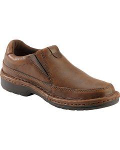 Roper Nubuck Opanka Slip-On Shoes, , hi-res