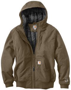 Carhartt Men's Quick Duck Jefferson Active Jacket - Big & Tall, Brown, hi-res