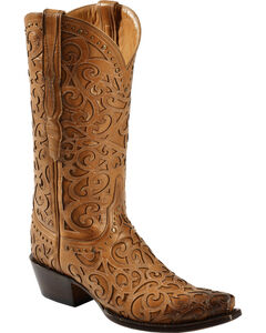 Lucchese Handmade 1883 Women's Sierra Cowgirl Boots - Snip Toe, , hi-res