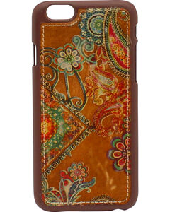 Blazin Roxx Hippie iPhone 5 Case, Brown, hi-res