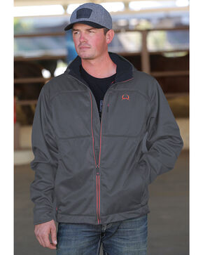 Cinch Men's Grey Lightweight Jacket , Grey, hi-res