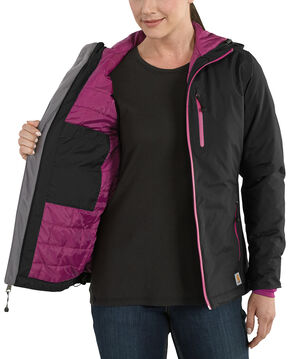 Carhartt Women's Elmira Jacket, Black, hi-res