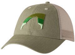 Mountain Khakis Green Sunset Peak Trucker Cap, , hi-res
