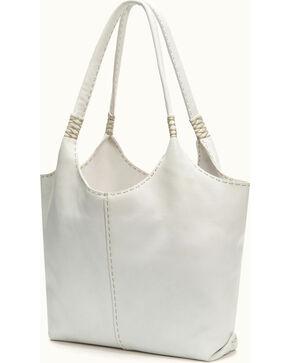 Frye Women's Naomi Pickstitch Shoulder Bag , White, hi-res