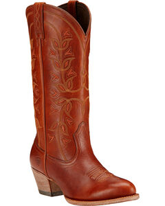 Ariat Desert Holly Cedar Brown Cowgirl Boots - Medium Toe, , hi-res