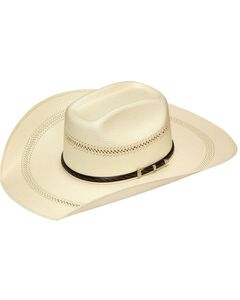 Twister 20X Shantung Buckle Band Straw Cowboy Hat, , hi-res