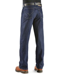"Wrangler Jeans - Rugged Wear Classic Fit - Big 44"" to 54"" Waist, Indigo, hi-res"