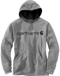 Carhartt Men's Dark Grey Extremes Signature Graphic Hooded Sweatshirt , , hi-res