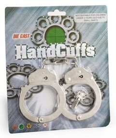 Kids' Toy Handcuffs with Key, , hi-res