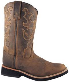 Smoky Mountain Boys' Pueblo Western Boots - Square Toe, , hi-res