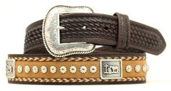 Nocona Cowboy Prayer Concho Western Belt, , hi-res