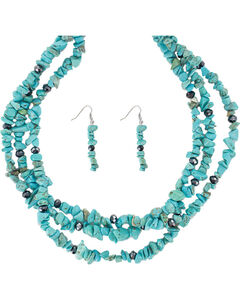 Shyanne Women's Turquoise Jewelry Set, , hi-res