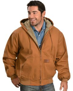 Exclusive Gibson Trading Co. Sherpa Lined Canvas Work Jacket, , hi-res