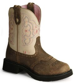 Justin Gypsy Distressed Western Boots, , hi-res