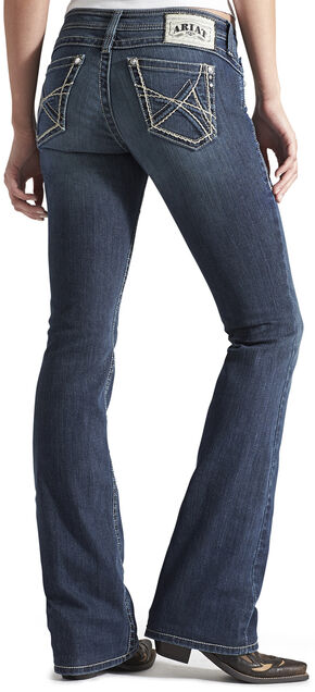 Ariat Women's Ruby 3D A Mystic Bootcut Jeans, Denim, hi-res