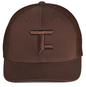 Tuf Cooper Performance Mesh Trucker Cap , Brown, hi-res