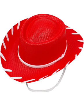 Twister Girls' Woody Cowboy Hat , Red, hi-res