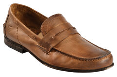 Frye Lewis Leather Penny Loafers, , hi-res