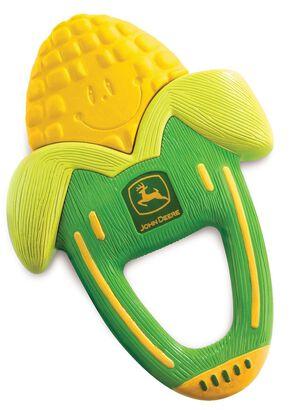 John Deere Massaging Corn Teether, Green, hi-res