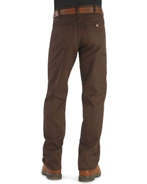 Dickies Stay Dark Work Pants, Brown, hi-res