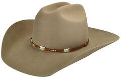 Bailey Men's Jericho 3X Wool Felt Cowboy Hat, , hi-res