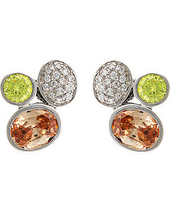 Montana Silversmiths Canyon Colors River Lights in the Creek Earrings, , hi-res