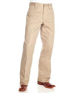 Circle S Men's Snap Dress Ranch Pants, Beige/khaki, hi-res