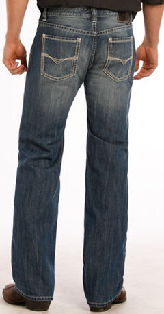 Rock and Roll Cowboy Pistol Small V Jeans - Straight Leg, , hi-res