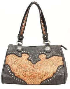 Blazin Roxx Tooled Shoulder Bag, , hi-res