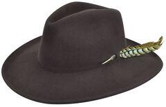 Renegade by Bailey Men's Calico Brown Felt Hat, , hi-res