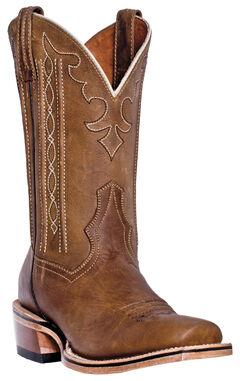 Dan Post Spritzer Cowboy Boots - Square Toe , , hi-res