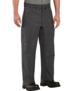 Red Kap Men's Charcoal Grey Performance Shop Pants , , hi-res