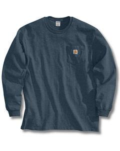 Carhartt Pocket Long Sleeve Work T-Shirt, , hi-res