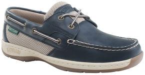 Eastland Women's Navy Solstice Boat Shoe Oxfords  , Navy, hi-res