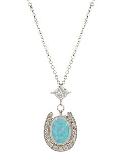 Montana Silversmiths River Lights In a Pond of Luck in the Evening Sky Necklace, , hi-res