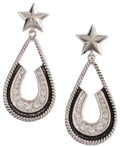 Montana Silversmiths Vintage Star Earrings, , hi-res