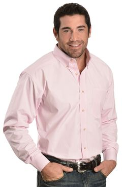 Ariat Pink Balin Stripe Long Sleeve Shirt, , hi-res