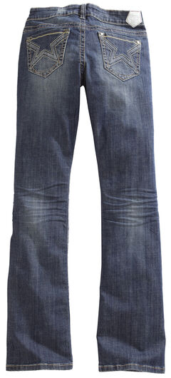 Tin Haul Women's Dolly Celebrity Star Stitch Bootcut Jeans, , hi-res