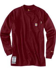 Carhartt Flame Resistant Force Cotton Long Sleeve Shirt - Big & Tall, , hi-res