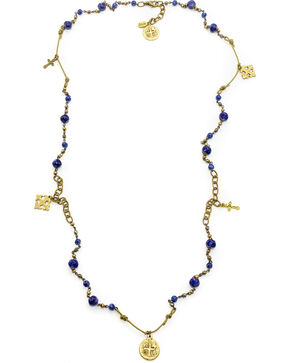 Julio Designs Bennie Necklace, Blue, hi-res