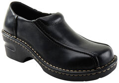 Eastland Women's Black Tracie Slip-Ons , , hi-res