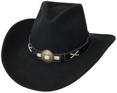 Silverado Tycoon Crushable Wool Felt Cowboy Hat, , hi-res