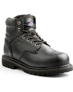 Dickies Men's Black Prowler Work Boots - Steel Toe, , hi-res