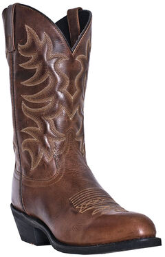 Laredo Pinehurst Cowboy Boots - Round Toe, , hi-res