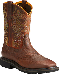 Ariat Sierra Men's Shadowland Mesa Work Boots - Soft Toe, , hi-res