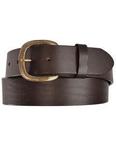 Justin Basic Leather Belt, , hi-res