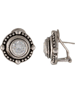 Montana Silversmiths A Gaze Upon the Western Night Earrings, Antique Silver, hi-res