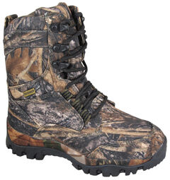 Smoky Mountain Boys' Hunter Camo Lace-Up Boots, , hi-res