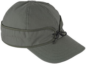 Stormy Kromer Men's Field Cap, Grey, hi-res